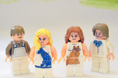 ABBA Lego minifigure created by Bloom Design