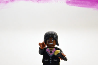 Barry White Lego minifigure created by Bloom Design
