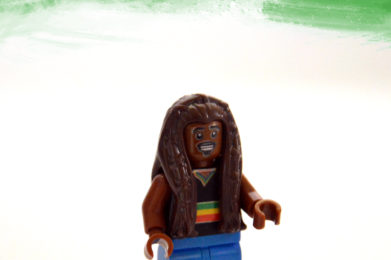 Bob Marley Lego minifigure created by Bloom Design
