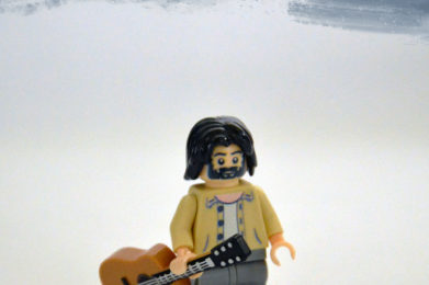 Cat Stevens Lego minifigure created by Bloom Design
