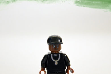 Dr. Dre Lego minifigure created by Bloom Design