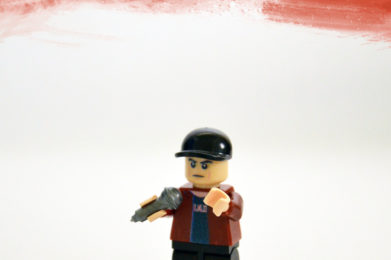 Eminem Lego minifigure created by Bloom Design