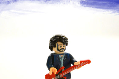 Eric Clapton Lego minifigure created by Bloom Design