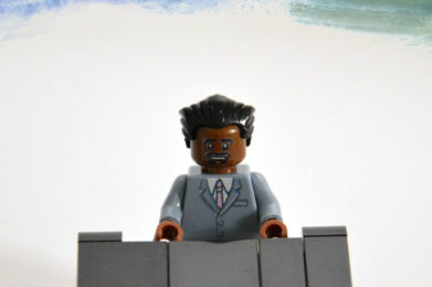 Fats Domino Lego minifigure created by Bloom Design