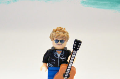 George Michael Lego minifigure created by Bloom Design