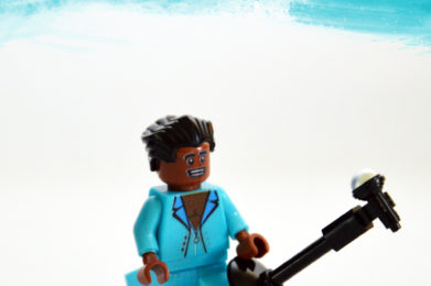 James Brown Lego minifigure created by Bloom Design