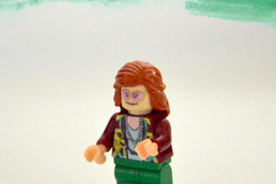 Janis Joplin Lego minifigure created by Bloom Design