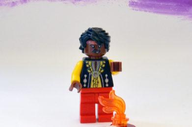 Jimi Hendrix Lego minifigure created by Bloom Design
