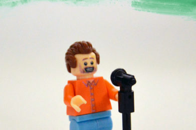 Joe Cocker Lego minifigure created by Bloom Design