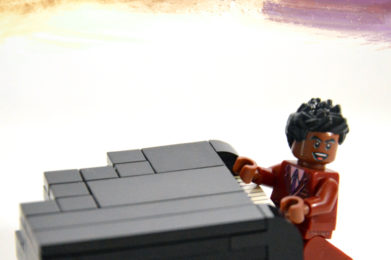 Little Richard Lego minifigure created by Bloom Design