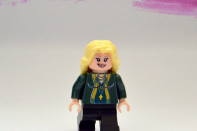 Madonna Lego minifigure created by Bloom Design
