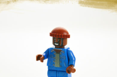 Marvin Gaye Lego minifigure created by Bloom Design