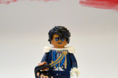 Michael Jackson Lego minifigure created by Bloom Design