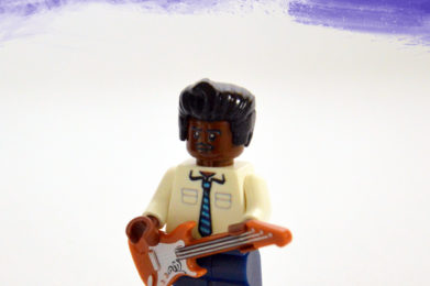 Muddy Waters Lego minifigure created by Bloom Design