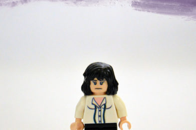 Patti Smith Lego minifigure created by Bloom Design