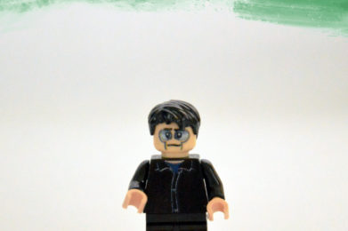 Peter Gabriel Lego minifigure created by Bloom Design
