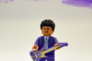 Prince Lego minifigure created by Bloom Design