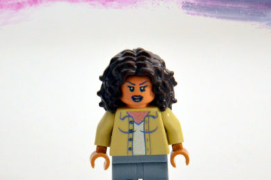 Tina Turner Lego minifigure created by Bloom Design