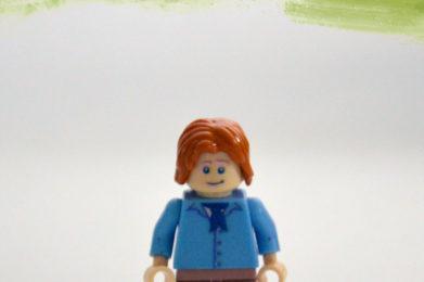 Van Morrison Lego minifigure created by Bloom Design