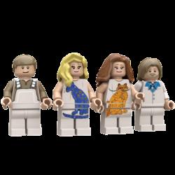 ABBA Lego© Minifigures