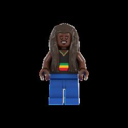 Bob Marley Lego© Minifigures