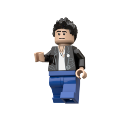 Bruce Springsteen Lego© Minifigures