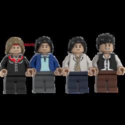 Dire Straits Lego© Minifigures