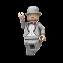 Elton John Lego© Minifigures