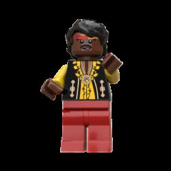 Jimi Hendrix Lego© Minifigures