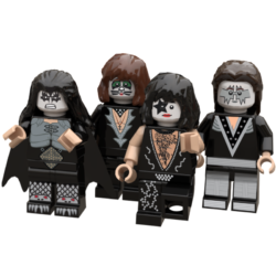 Kiss Lego© Minifigures