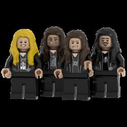 Metallica Lego© Minifigures